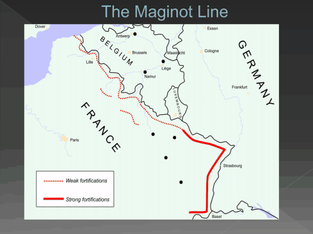 Maginot Line Png Europe Leading Up To And During World War Ii
